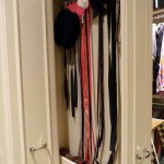 Pull out shelving for closet storage from Majestic Construction remodel