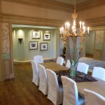 Dining room with crown modeling from Majestic Construction