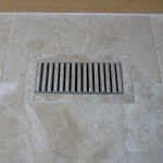 Floor vent cover to match tile from Majestic Construction remodel