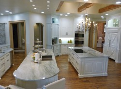 Elegant kitchen remodeled by Majestic Construction