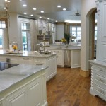 Huge kitchen with three islands from Majestic Construction remodel