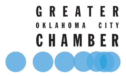 Logo for the Oklahoma City Chamber of Commerce, where Majestic contractors are a member