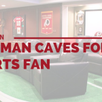 Cover photo for Inspiration (Wo)man Caves for Sports Fans from Majestic Construction blog