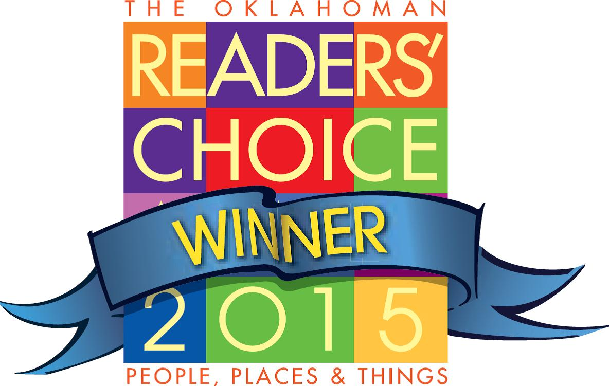 Logo for Majestic's 2015 Reader's Choice Award Winner, chosen the best remodeling contractors in Oklahoma City