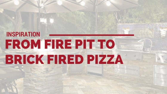 Cover photo for Inspiration From Fire Pit to Brick Fired Pizza from Majestic Construction blog