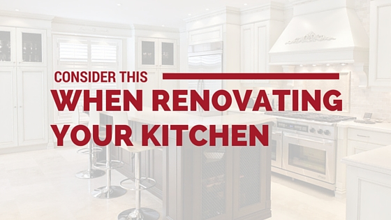 Cover photo for Consider This When Renovating Your Kitchen from Majestic Construction blog