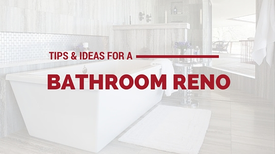 Cover photo for Tips & Ideas for a Bathroom Reno from Majestic Construction blog