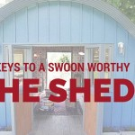 Cover photo for 5 Keys to a Swoon Worthy She Shed from Majestic Construction blog